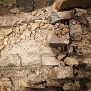 old brick モルタル造形 エージング塗装 展示会ブース製作