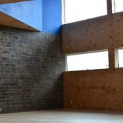 old brick モルタル造形 エージング塗装